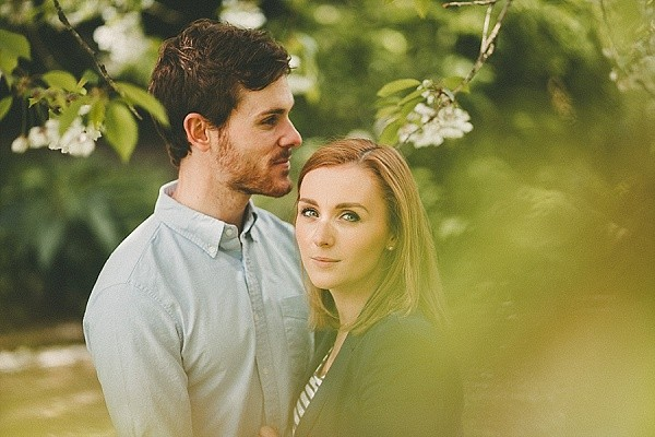 BOTANIC GARDEN BELFAST ENGAGEMENT SESSION